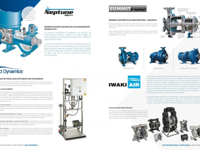 Brochure sector Industrial Abc ingenieria